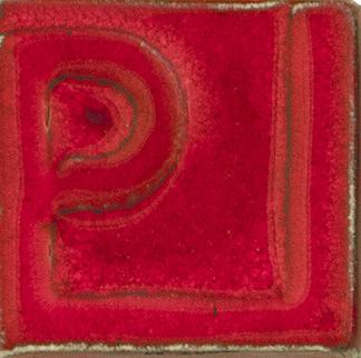 Esmalte rojo cadmio