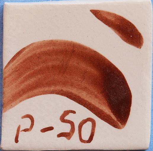 Óxido colorante marrón rojizo